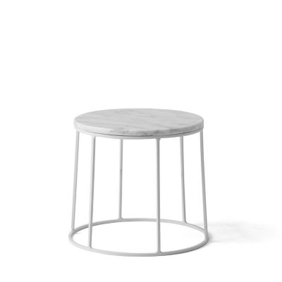 Menu Wire Series Marble Top Side Table Stand | YLiving.com