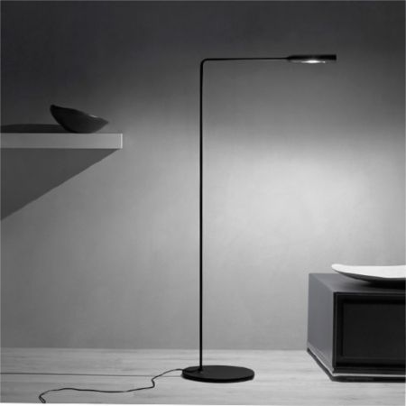 Lumina flo led lounge floor lamp ylighting aloadofball