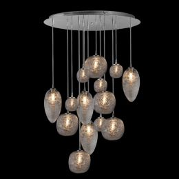 Oggetti Luce Cosmos 14 Light Chandelier