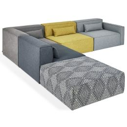 Mix Modular 5 Piece Sectional Sofa by Gus Modern at Lumens.com