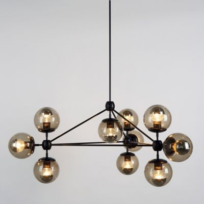 roll and hill modo 3 sided chandelier 10 globes ylighting com rh ylighting com
