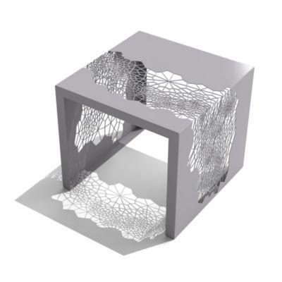 Hive Side Table. Aviator Gray