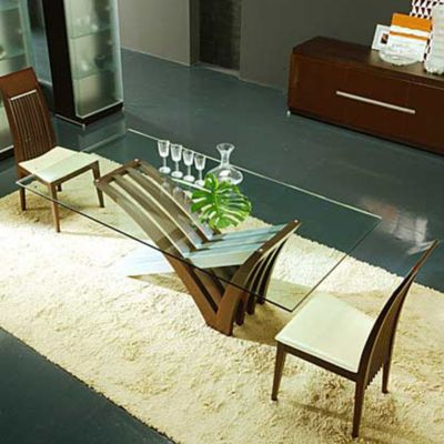 Charmant Rossetto Mirage Dining Table | YLiving.com