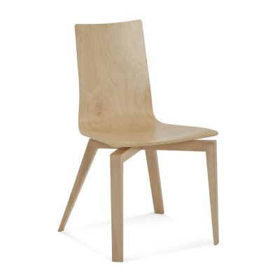 Saloom Furniture Slip Plyshell Dining Chair   YLiving.com