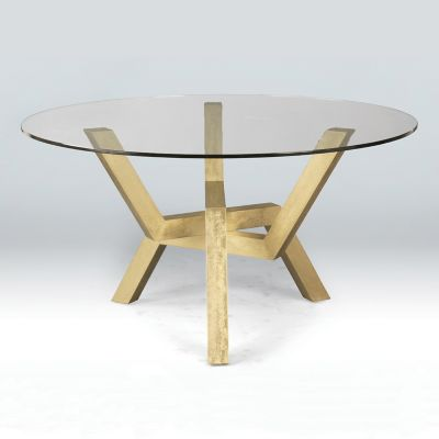 Saloom Furniture Cleo Dining Table   YLiving.com