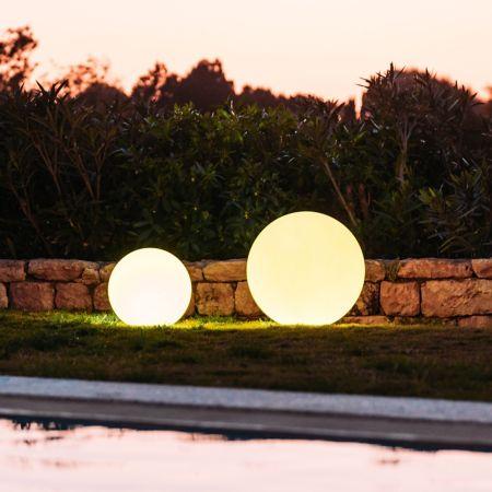 Smart and green globe bluetooth led indooroutdoor lamp ylighting aloadofball Images