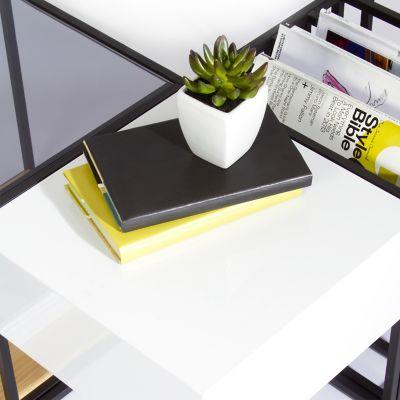 Sauder Boutique Space Frame Table Set | YLiving.com