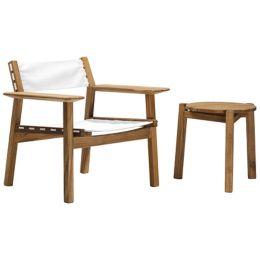 Astounding Skargaarden Djuro Lounge Armchair With Sling Yliving Com Uwap Interior Chair Design Uwaporg