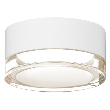sonneman lighting reals outdoor led surface mount plate lens ylightingcom - Outdoor Surface Mount Light