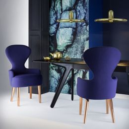 Tom Dixon Wingback Dining Chair Ylivingcom