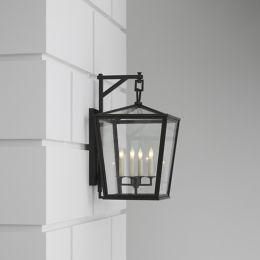 Visual Comfort Darlana Outdoor Wall Bracket Lantern