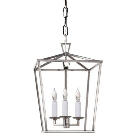 Visual comfort darlana mini lantern pendant light ylighting aloadofball Images