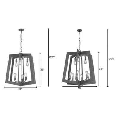 Varaluz Lofty 2-Tier Chandelier | YLighting.com on