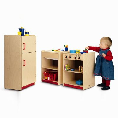 Whitney Brothers Toddler Play Kitchen Set | YLiving.com