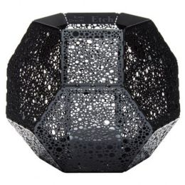 Incredible Etch Tea Light Holder Black By Tom Dixon At Lumens Com Evergreenethics Interior Chair Design Evergreenethicsorg