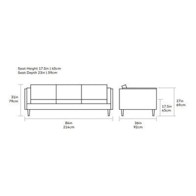 Adelaide Sofa Diagram