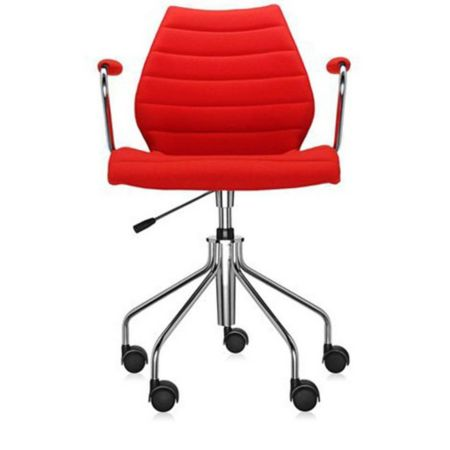 kartell maui soft armchair with casters yliving com