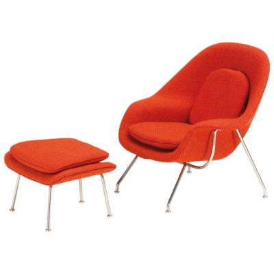 Merveilleux Vitra Miniature Womb Chair And Ottoman | YLiving.com