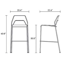Hot Mesh Bar Stool With Chair Counter Table And Cafe
