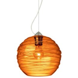 Besa Lighting Wave 10 One Light Pendant