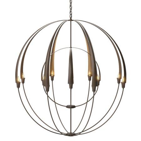 Hubbardton forge double cirque chandelier ylighting aloadofball Image collections