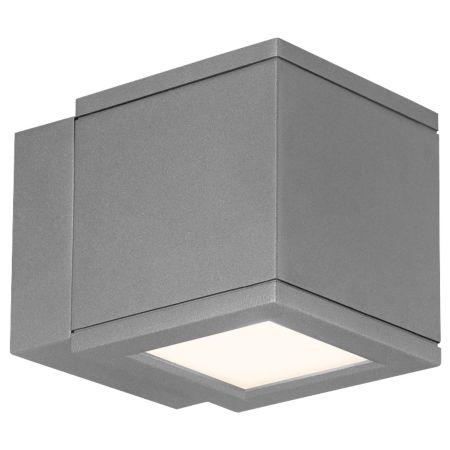 Wac lighting rubix indoor outdoor led wall light ylighting aloadofball Choice Image