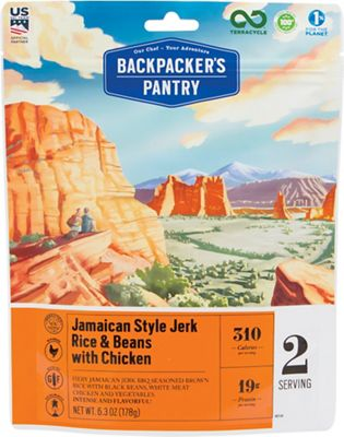Backpacker's Pantry Jamaican Jerk Rice with Chicken