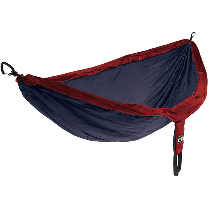 Portable High Strength Parachute Fabric Hammock Hanging Bed With Mosquito Net For Outdoor Camping Travel Blue To Help Digest Greasy Food Camp Sleeping Gear