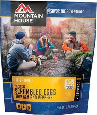 Mountain House Scrambled Eggs With Ham