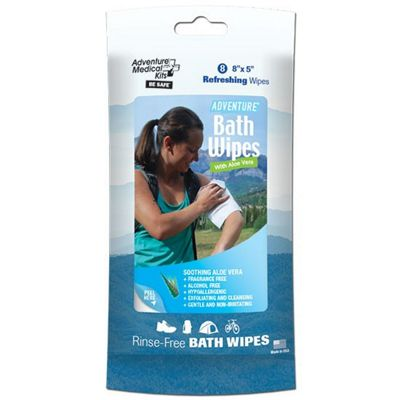 Adventure Medical Kits Fresh Bath Wipes Travel Size