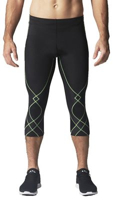 CW-X Men's Stabilyx Joint Support 3/4 Compression Tight