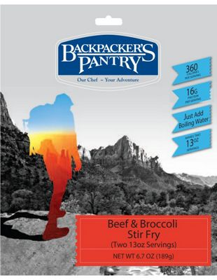 Backpacker's Pantry Broccoli and Beef Stir-Fry
