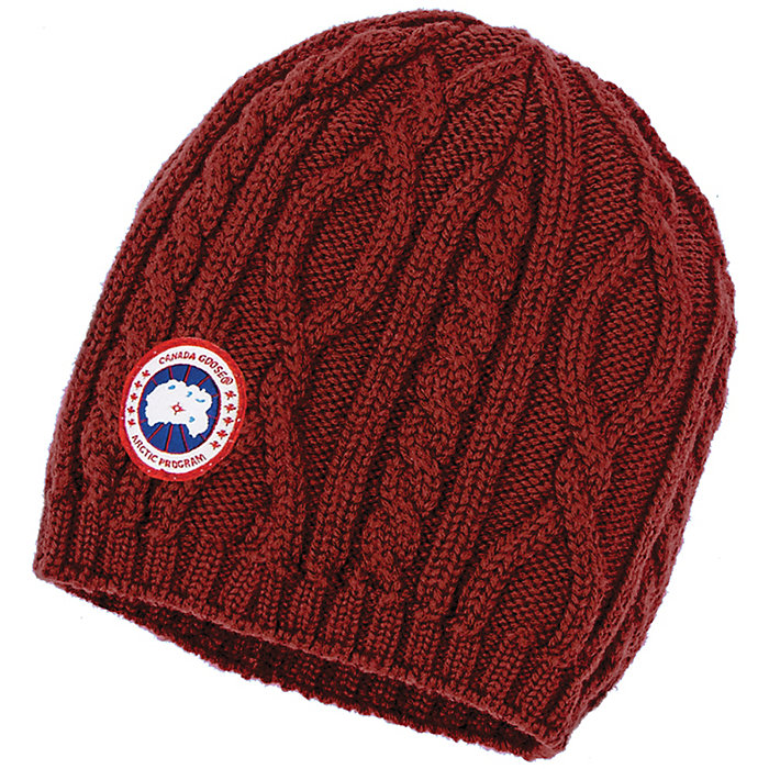 b70cde375ff Canada Goose Women s Cable Knit Beanie - Moosejaw