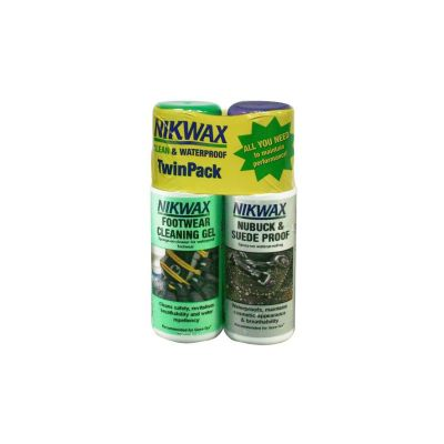 Nikwax Footwear Twin Pack Spray Bottles