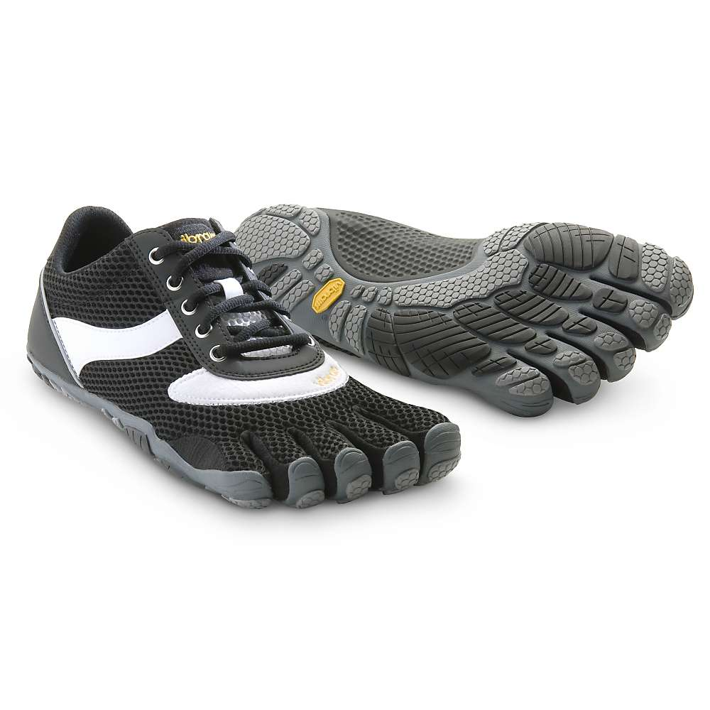Five Toe Running Shoes White And Black