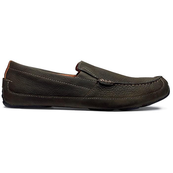 OLUKAI Mens Akepa Moc,Chocolate//Chocolate Leather,US 8 M