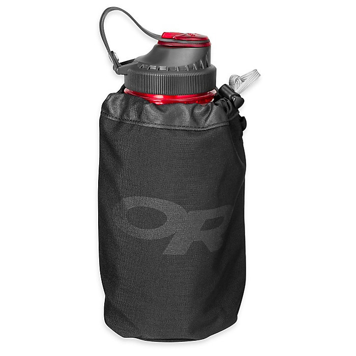 3x Water Bottle Carrier Insulated Cover Bag Pouch Holder with Shoulder Strap 1L