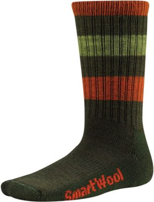 Smartwool Kids' Striped Hike Light Crew Sock