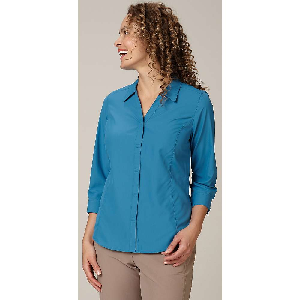 Royal robbins women 39 s lt expedition 3 4 sleeve top at for Royal robbins expedition shirt 3 4 sleeve women s