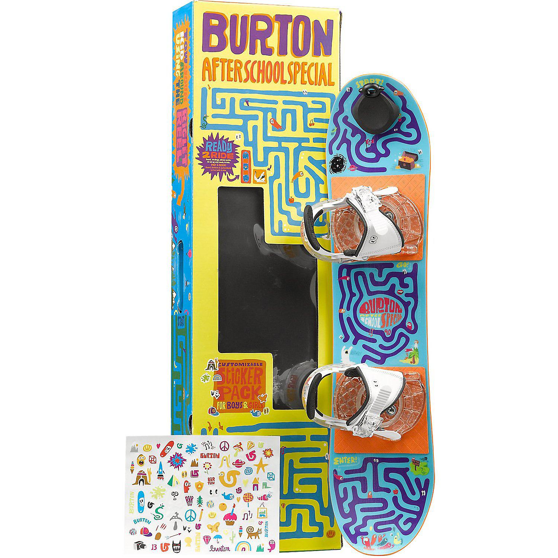 04fd703cbbca Burton After School Special Snowboard Package 80 - Kid s - Moosejaw