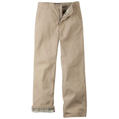 Mountain Khakis Men's Flannel-Lined Original Mountain Pant
