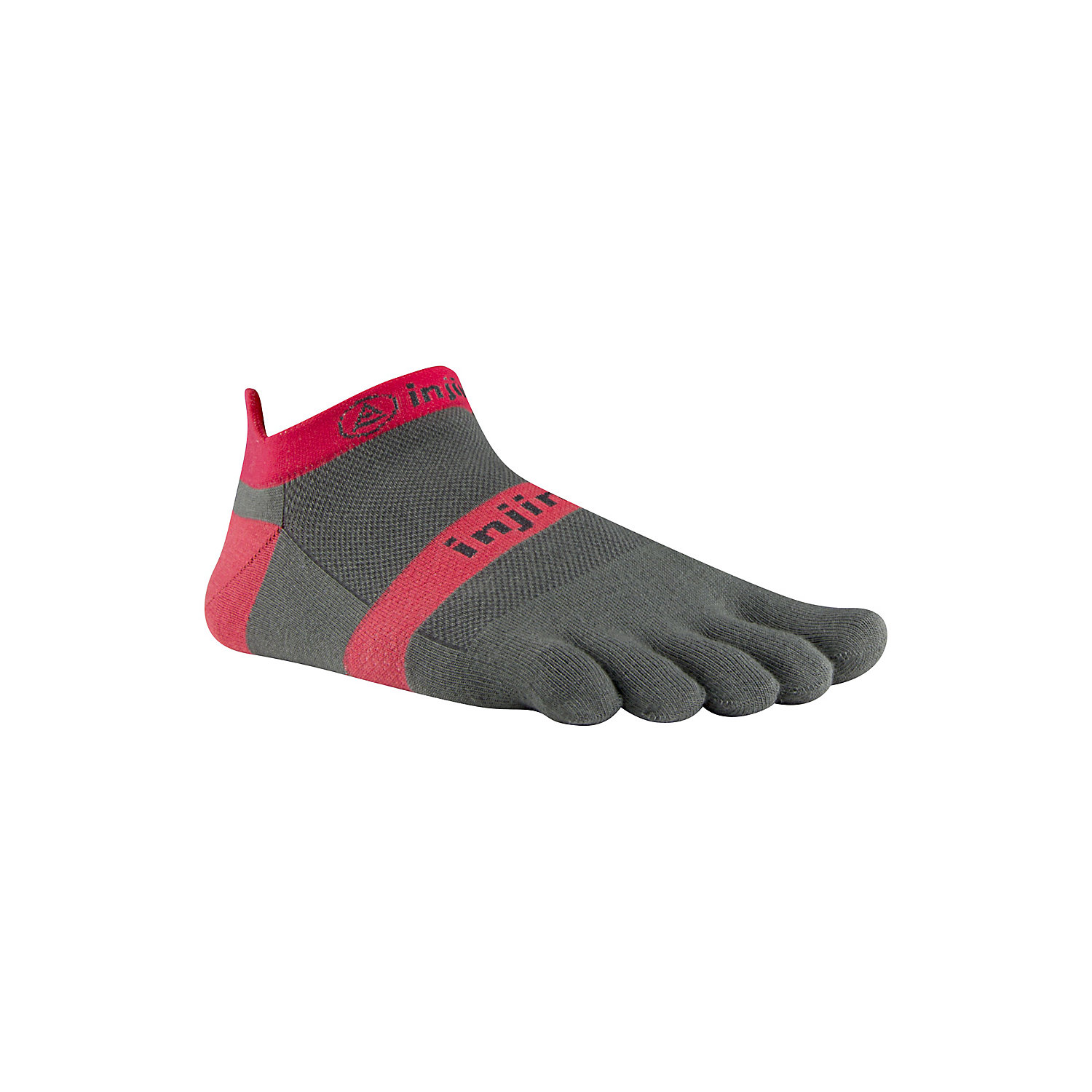 Injinji Run Light Weight No show Gray