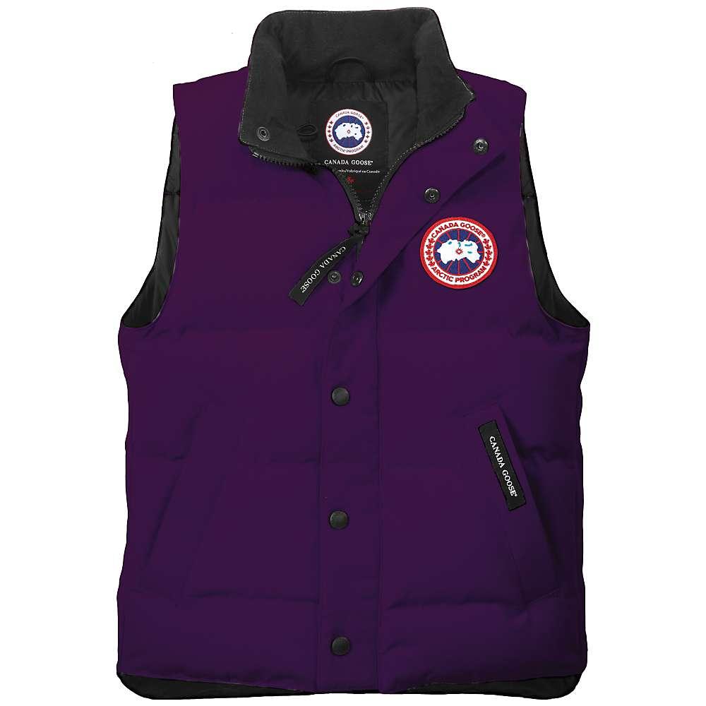 canada goose black 'vanier' vest