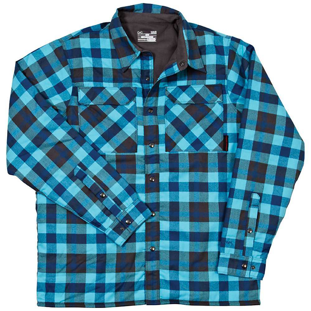 Under Armour Men's Fleece Lined Shirt Jacket - at Moosejaw.com