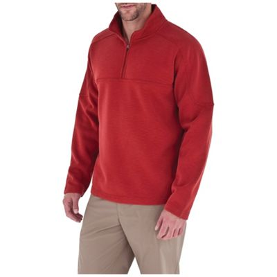 Royal Robbins Men's Desert Knit Plus 1/4 Zip