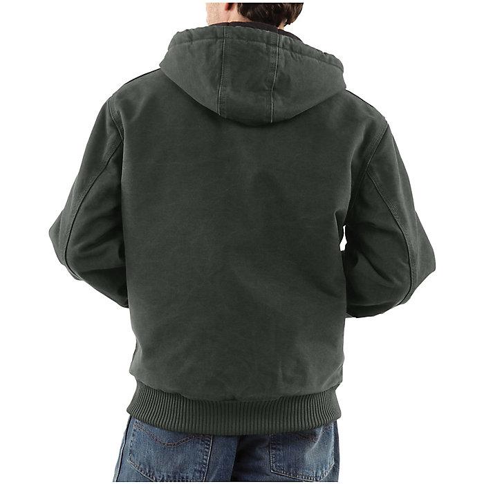 374c4b5d998 Carhartt Men's Quilted Flannel Lined Sandstone Active Jacket - Moosejaw