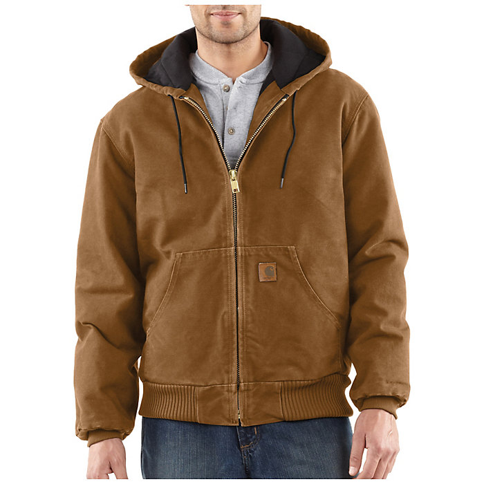3c59dce048db2 Carhartt Men s Quilted Flannel Lined Sandstone Active Jacket - Moosejaw