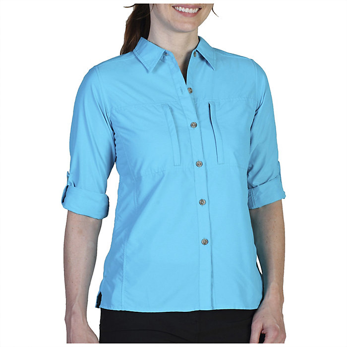 86bd5151 ExOfficio Women's Dryflylite Long Sleeve Shirt - Moosejaw