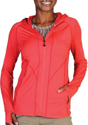 ExOfficio Women's Sol Cool Long Sleeve Hooded Zippy