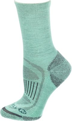 Merrell Women's Scamper Real Solid Hiking Lightweight Crew Sock